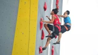 直播 2019中国攀岩速度系列赛大众组