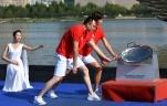 全国第十届残运会暨第七届特奥会圣火采集暨火炬传递起跑仪式在天津举行