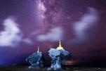 银河系中心在350万年前发生大喷射