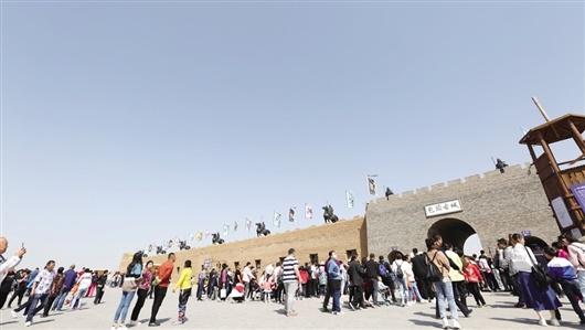 包头古城文化旅游景区——追溯时光 印象包头