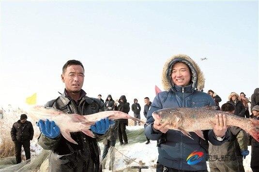 冬网捕鱼 年货采购