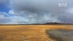 内蒙古:踏马巡湖 守护候鸟