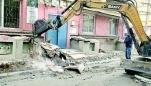 赞!青山区社区拆煤池,还居民安全、整洁的居住环境