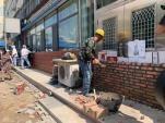【澳门美高梅游戏登陆】幸福路5号街坊封堵破墙破窗开店