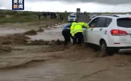 内蒙古多地暴雨引发山洪:救助被困人员近500人,1人死亡(蒙语)