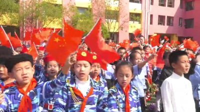 """包头日报""""安利杯•礼赞新中国 讴歌新时代""""短视频系列展播——幸福南路小学:北疆少年歌唱祖国"""